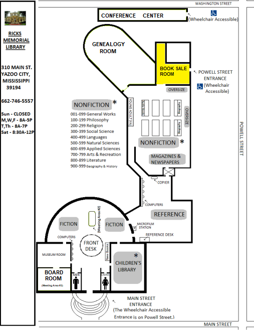library-map-1st-floor-book sale room